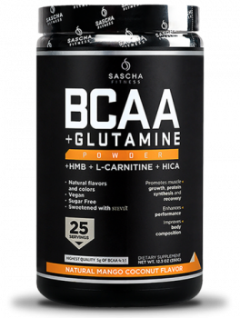 BCAA + Glutamine Natural-Mango Coconut