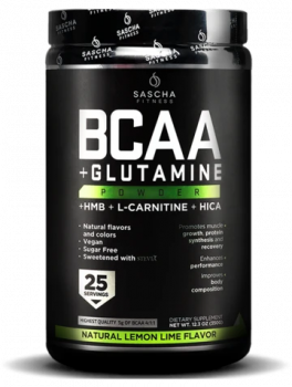 BCAA + Glutamine Natural-Lemon Lime