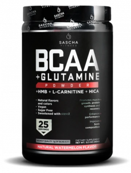 BCAA + Glutamine Natural-Watermelon