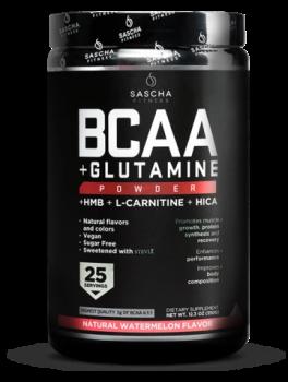 BCAA + Glutamine Natural-Watermelon