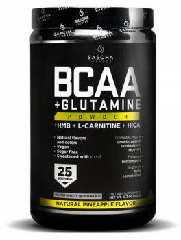 BCAA + Glutamine Natural-Pineapple