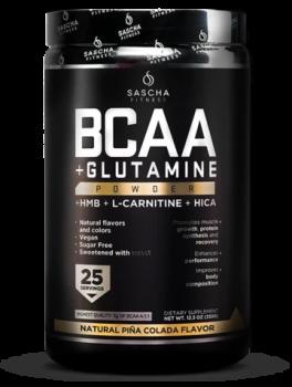 BCAA + Glutamine Natural-Piña Colada