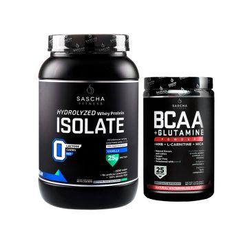 Combo 2: 1 ISOLATE $48 + 1 BCAA $42