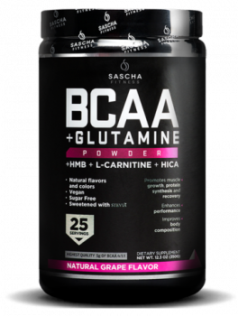 BCAA + Glutamine Natural-Grape